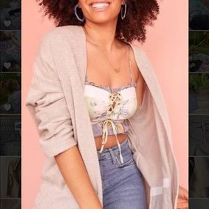 DONNI by Anthropologie lightweight cardigan